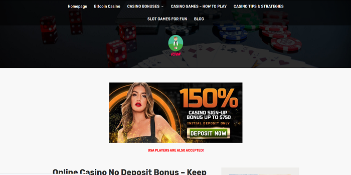 no deposit bonus keep what you win