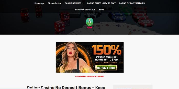 no deposit bonus keep what you win