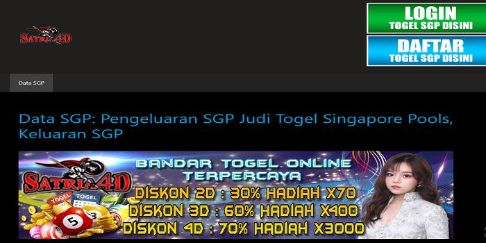 Data Sgp